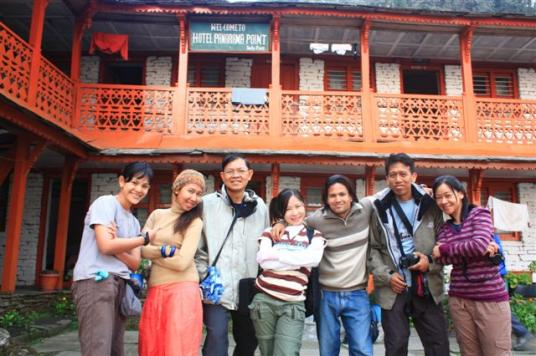 Family Tour in Nepal pictures