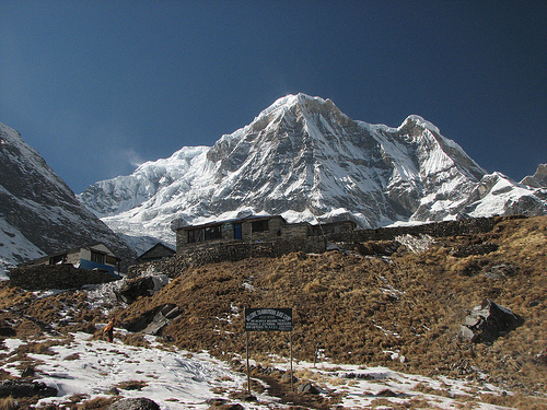 Annapurna Base Camp Trek Nepal pictures