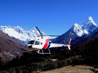 Helicopter Tours in Nepal pictures