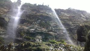 Ganga Jamuna water fall Trek pictures